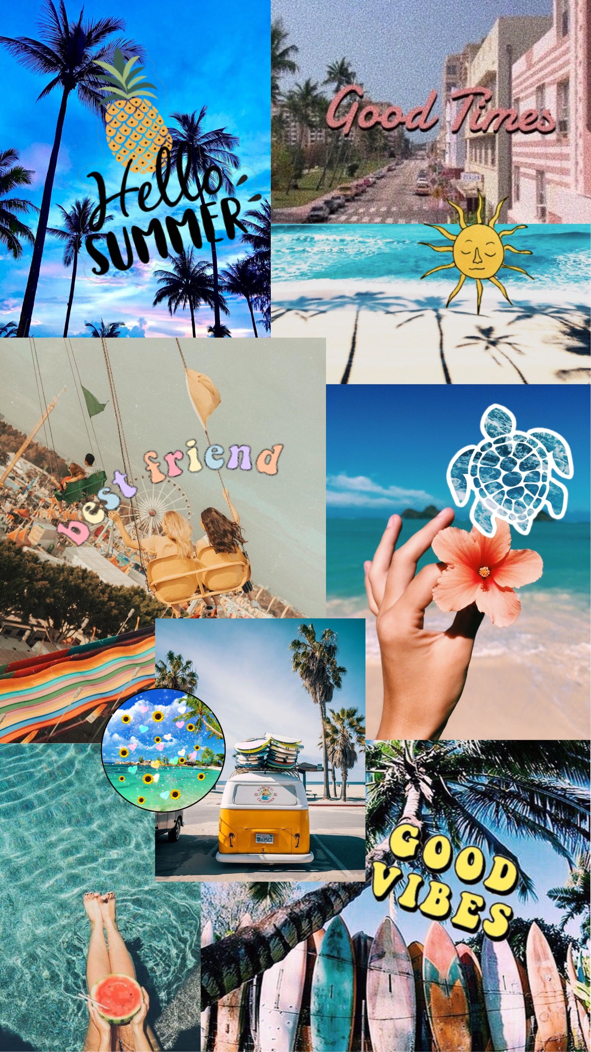 summer vibes in 2021 pastel wallpaper iphone