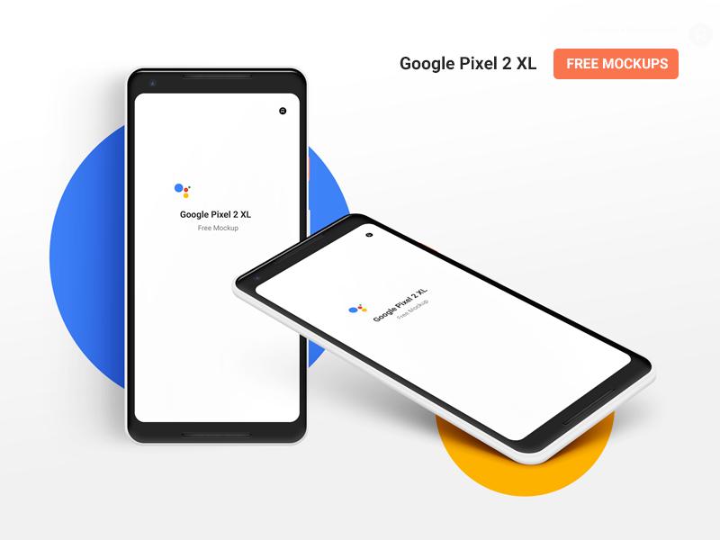 Google Pixel 2 Xl Free Psd Mockup Front And Isometric Views Mockup Free Psd Android Mockup Psd Free Mockup