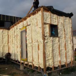blain 44 r alis en autoconstruction avec travaux d 39 isolation ext rieure par mousse. Black Bedroom Furniture Sets. Home Design Ideas