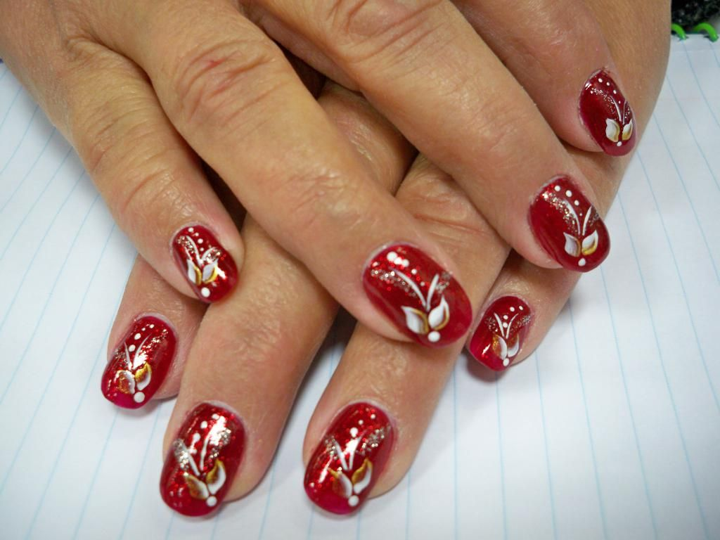 2 Holiday Nail Art Designs with Stepwise Tutorial and Pictures ...