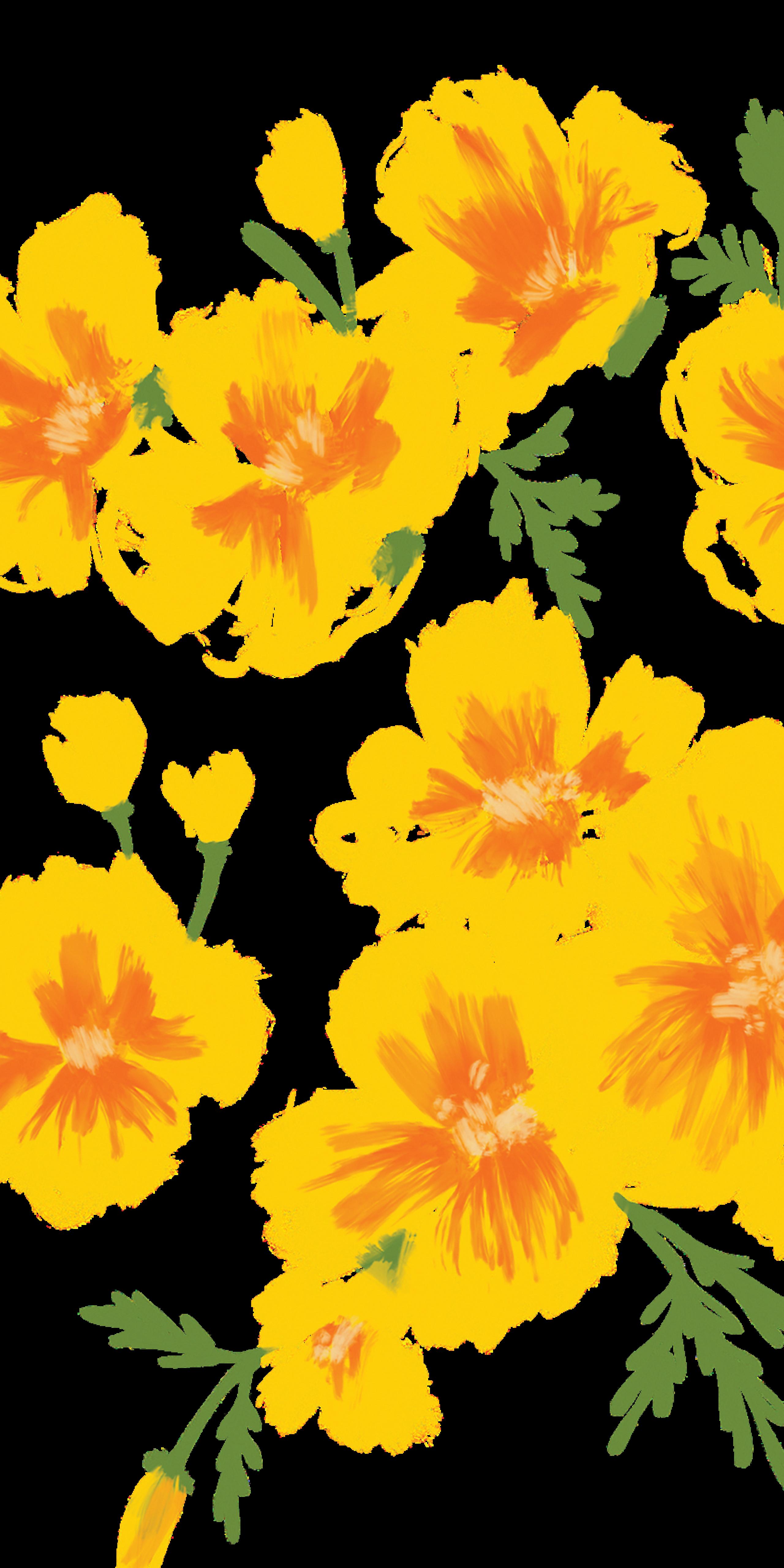 Yellow Poppies Casetify Iphone Art Design Poppy