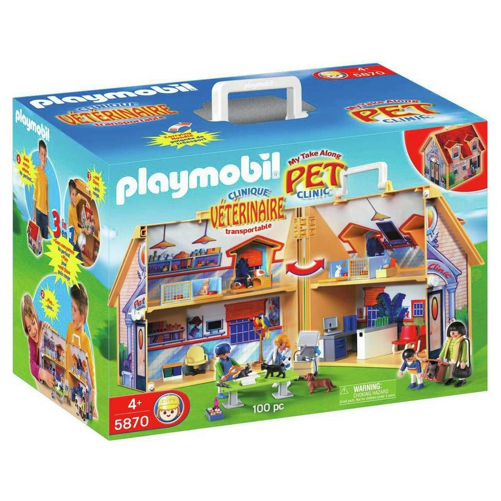 Buy Playmobil 5870 Vet Clinic Playset Playsets and