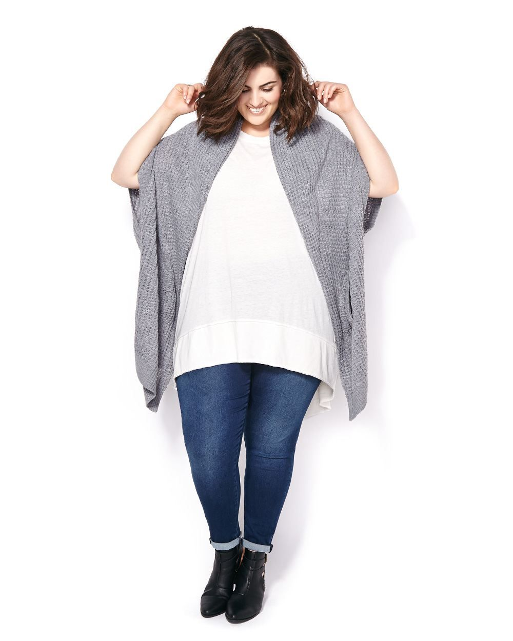 MELISSA McCARTHY Cocoon Cardigan | Cozy up to instant style with ...