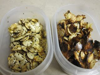 Vegetarian and Cooking!: Pumpkin Seeds Two Ways