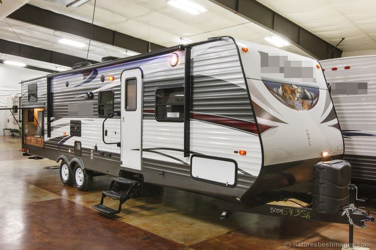 New 2015 30dbss Slide Out Bunkhouse Travel Trailer Outdoor