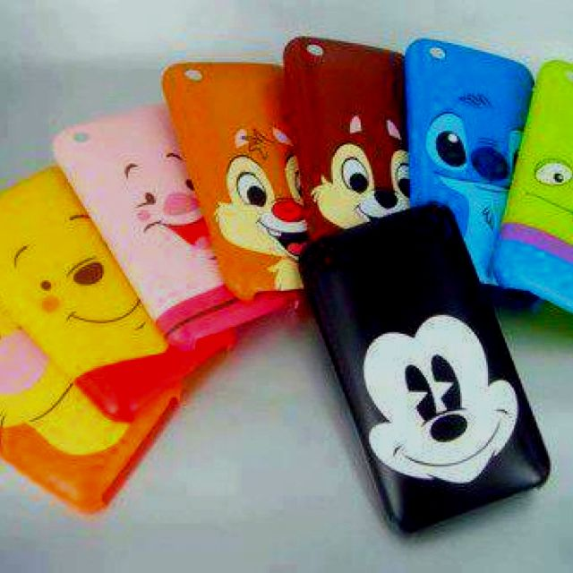 Disney characters iPhone case! Can I have all these plzs!
