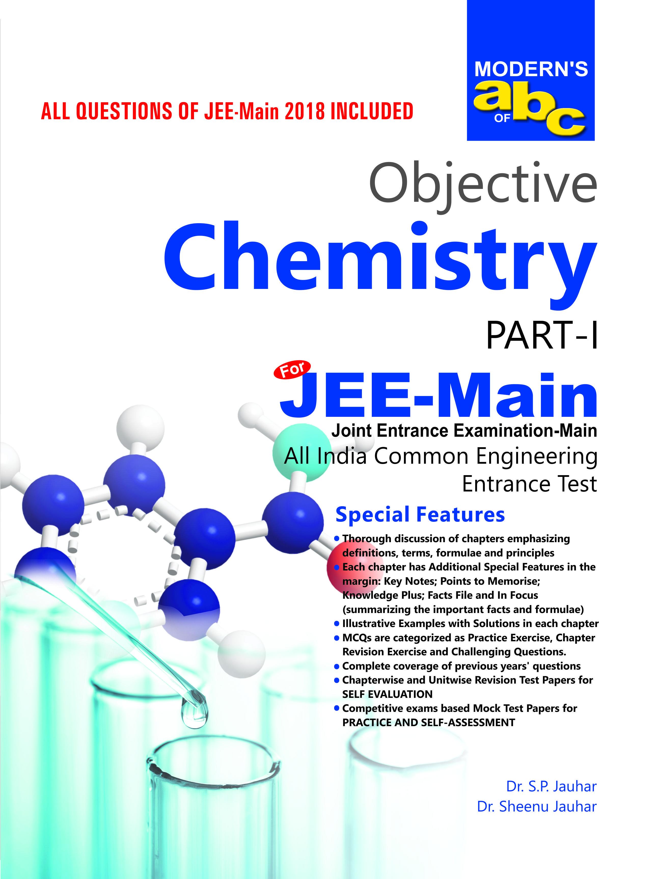 Modern objective chemistry for jeemain chemistry