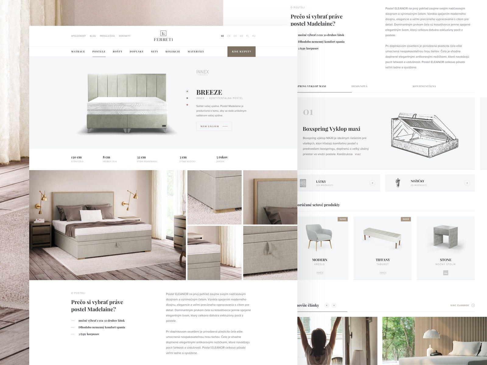 Ferreti Detail page in 2020 Design, Milan, Graphic