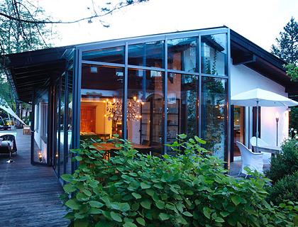 umbauen renovieren heller bungalow mit wintergarten architektur pinterest winterg rten. Black Bedroom Furniture Sets. Home Design Ideas