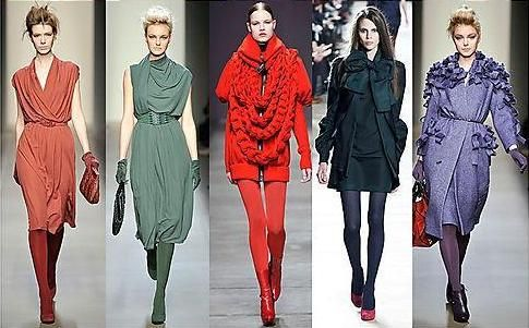 Column Or Monochromatic Dressing Is The Quickest Way To A Long Tall Sophisticated Warm Color SchemesWarm