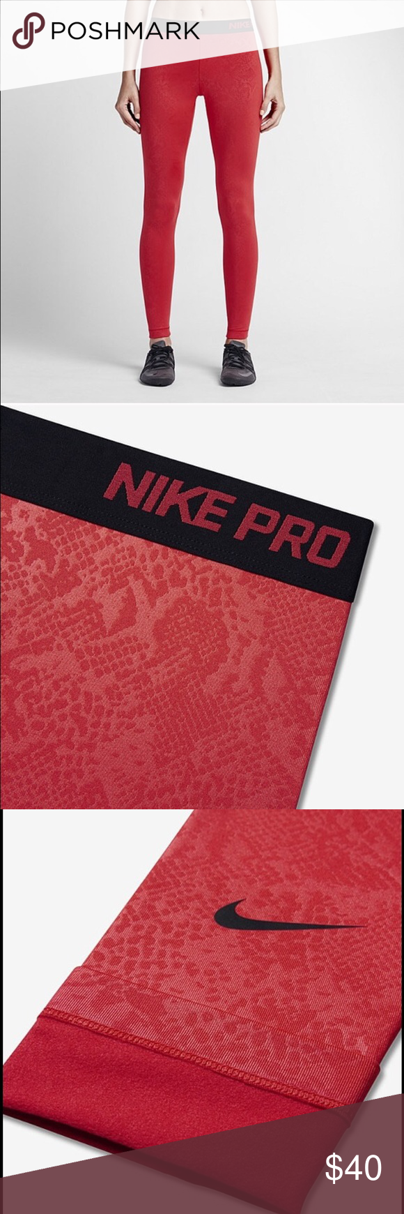 Nike pro leggings Nike pro dry fit leggings Nike Pants Leggings