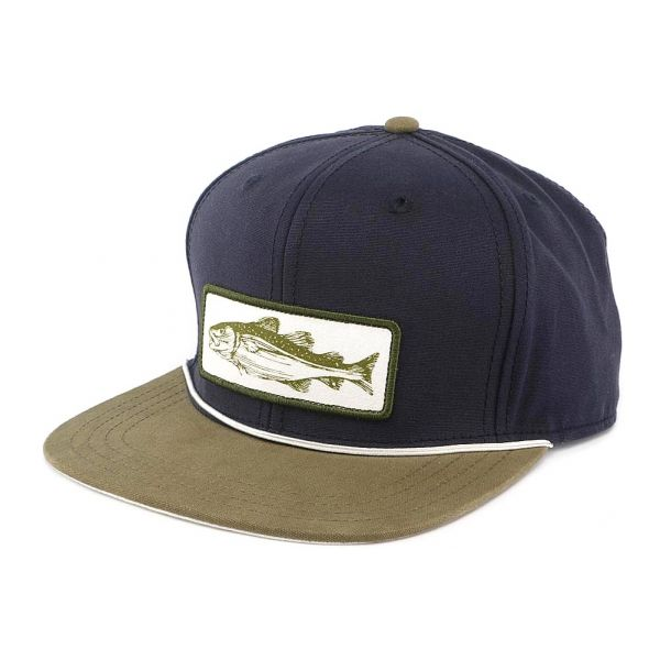 Casquette Snapback Bleu Fish Story Goorin Bros  b404d0c61fed