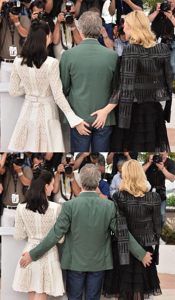 Carol Photocall: Todd Haynes, Cate Blanchett and Rooney Mara.
