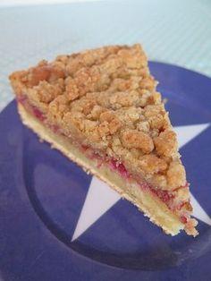Gâteau crumble aux framboises, ou crumb-cake | Crumble ...