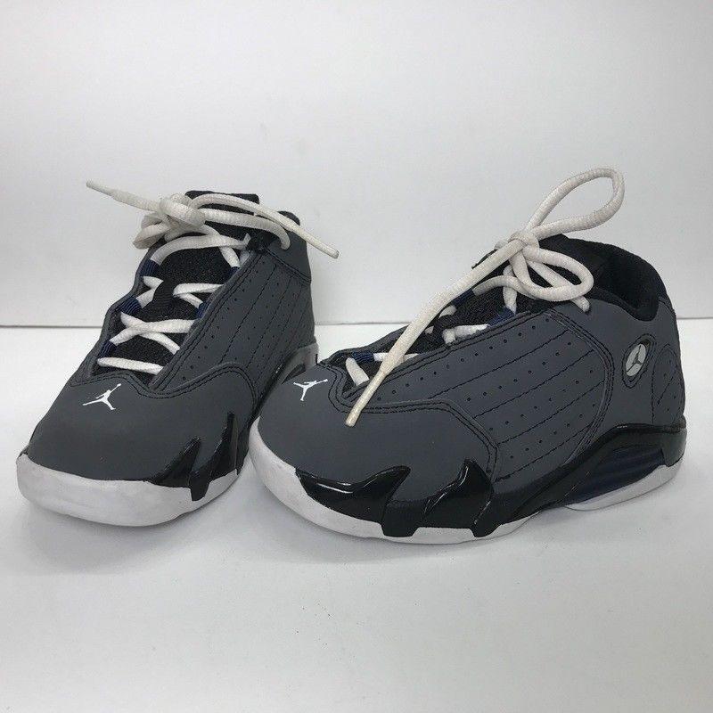 designer fashion 281eb 32daa Nike Air Jordan 14 Retro Toddler Boys Shoe Gray/Black Non ...