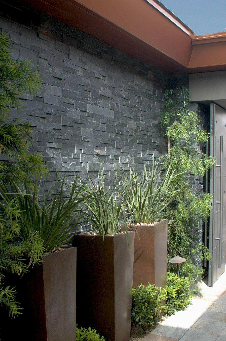 Bold Forms Compliment An Entry Alcove At Boulder Ridge By Christopher Homes  / On TTL Design