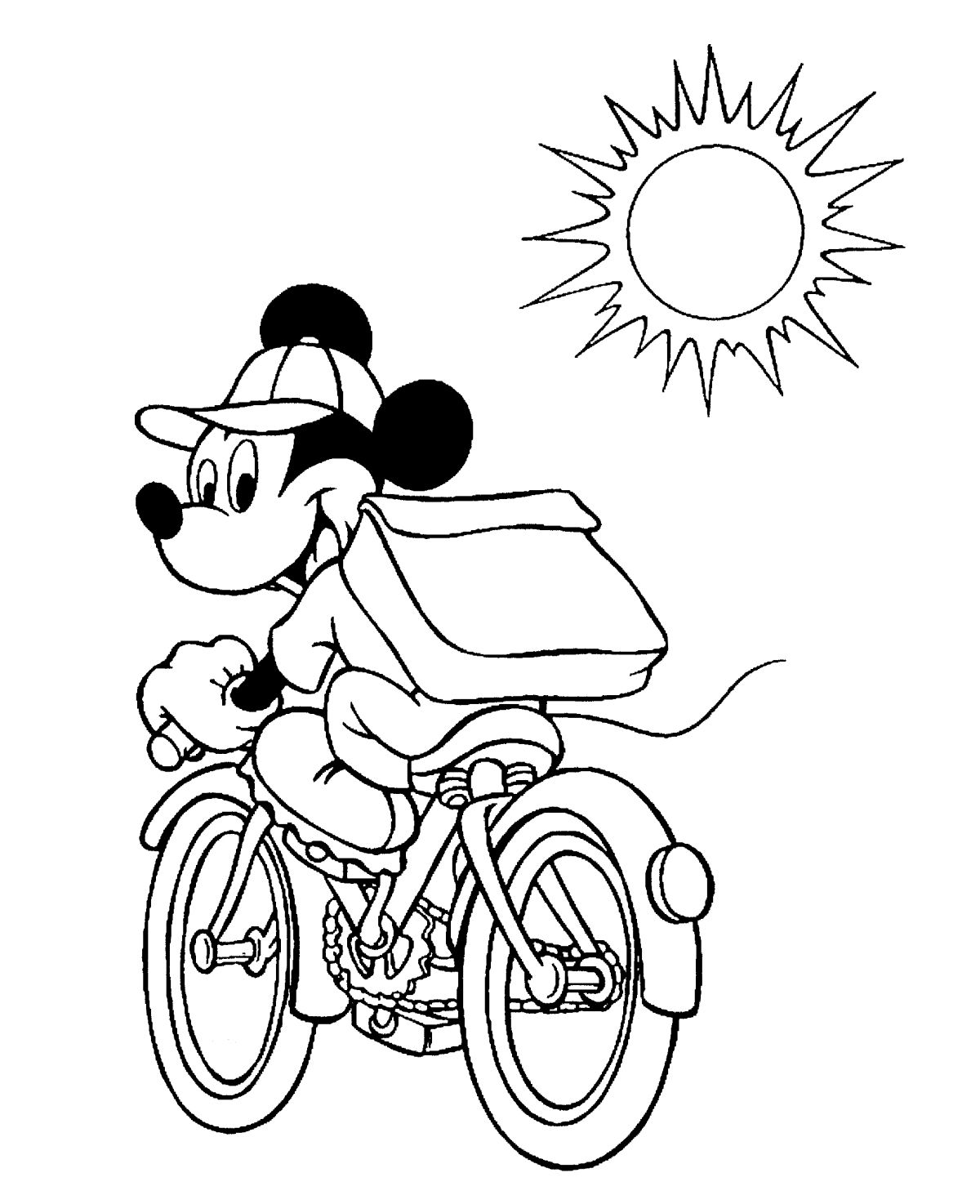 MickeyMousecoloring4 (406K) Mickey mouse coloring