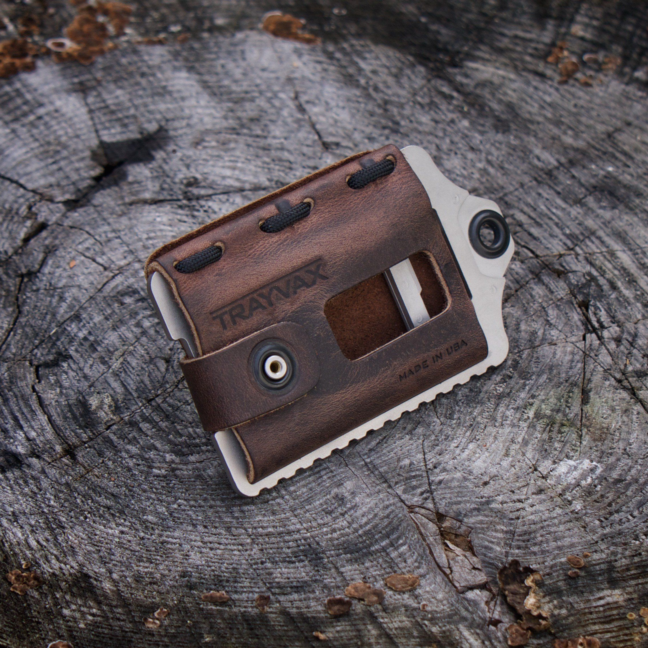 Element Wallet Rugged Leather Horween Leather Leather Wallet