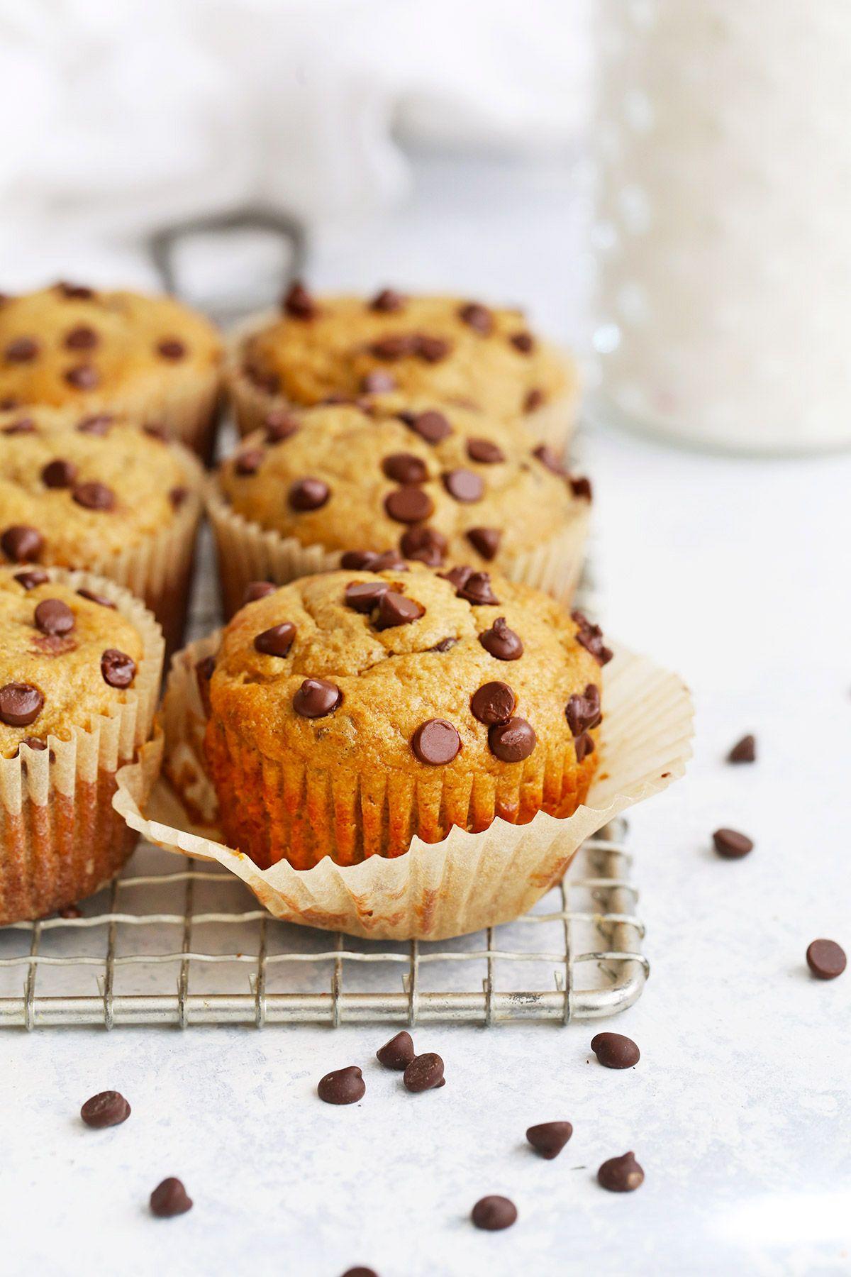 Healthy Peanut Butter Banana Muffins Gluten Free Recipe