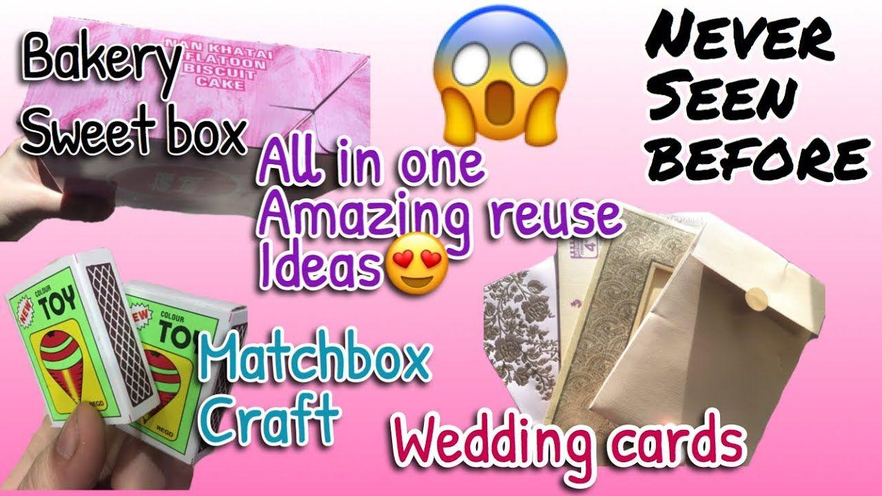 Best way to reuse old sweet box| Diy wedding anniversary gift ideas ...