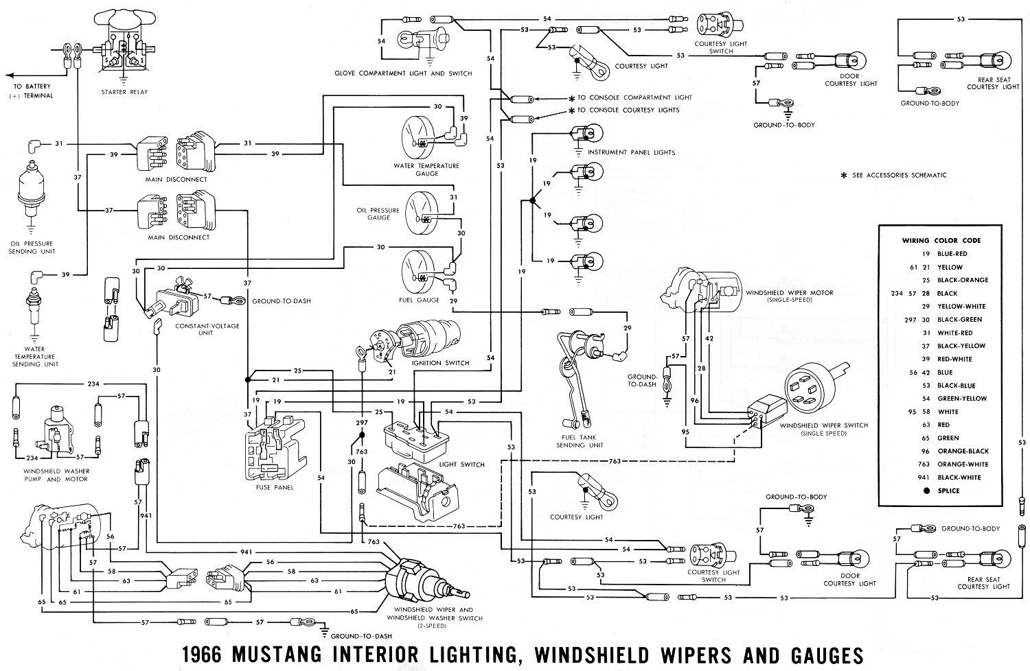 medium resolution of 1966 mustang wiring diagrams average joe restoration for 1966