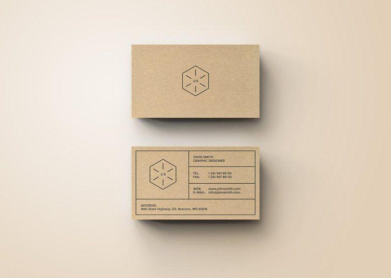 Simple creative business card by nazdrag template pinterest simple creative business card by nazdrag reheart Choice Image