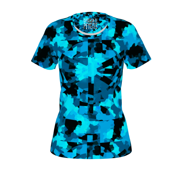 #timecamo by #chocolatepeyote #citrusreport #tshirt #alloverprint #time #camo #blue #pattern #graphic #graphicdesign #@The Citrus Report