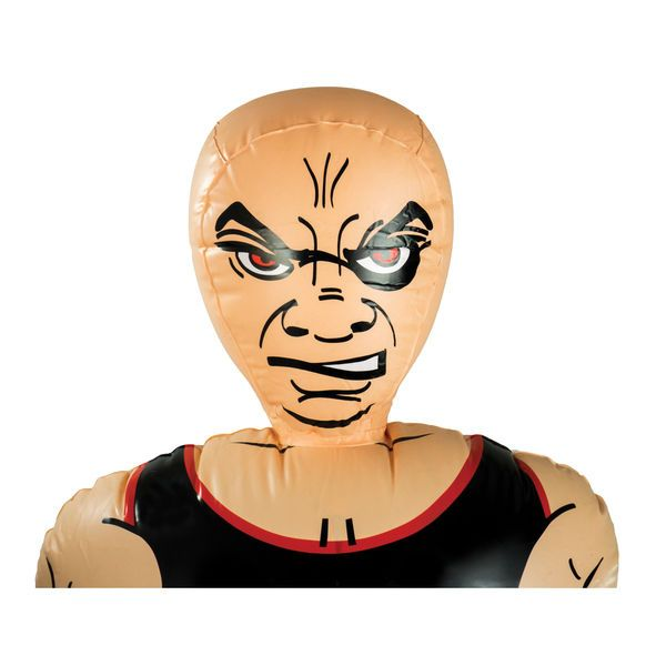 """Free Shipping Pure Boxing Inflatable Free-Standing /""""Tough Guy/"""" Punching Bag w.."""