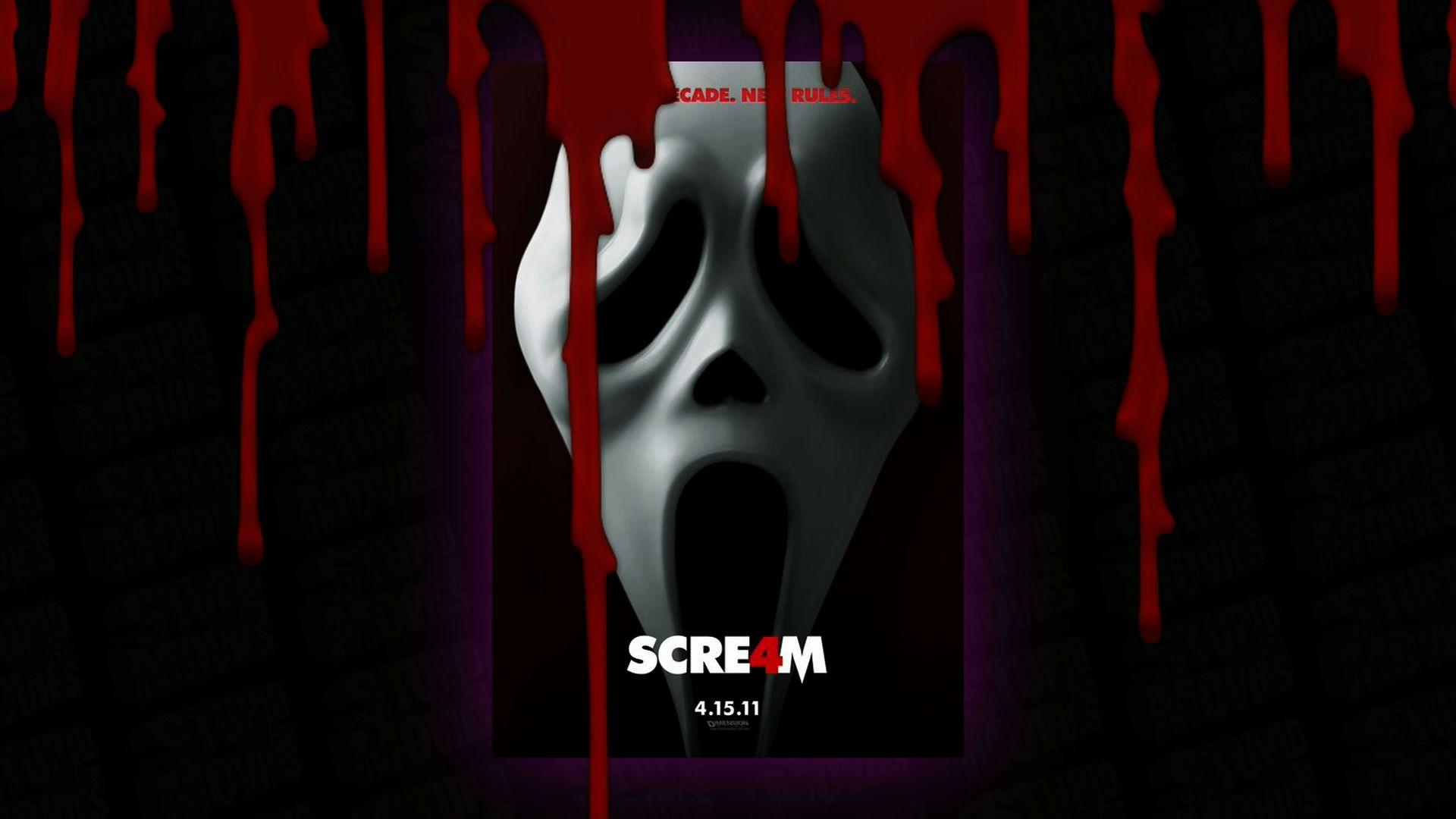 Scream 4 Ghostface Hd Wallpaper 4k Hd Y Pantalla