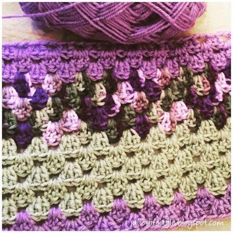 Julies Lifestyle Progress With Crochet Lap Blanket Crochet