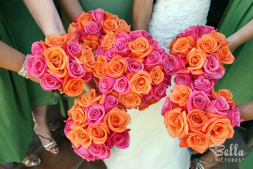 Wedding Photography Wedding Photographers Bella Pictures Orange And Pink Wedding Orange Wedding Unique Wedding Flowers