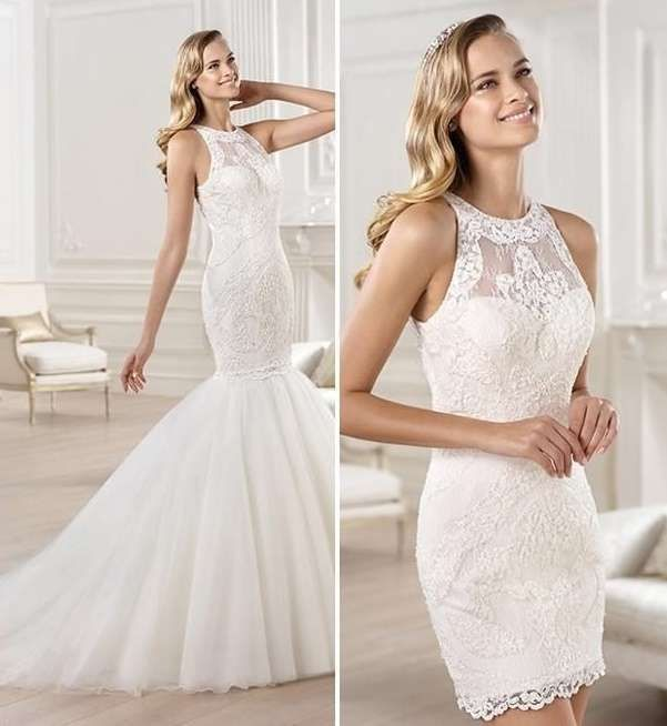vestidos de novia que se transforman: fotos diseños - vestido