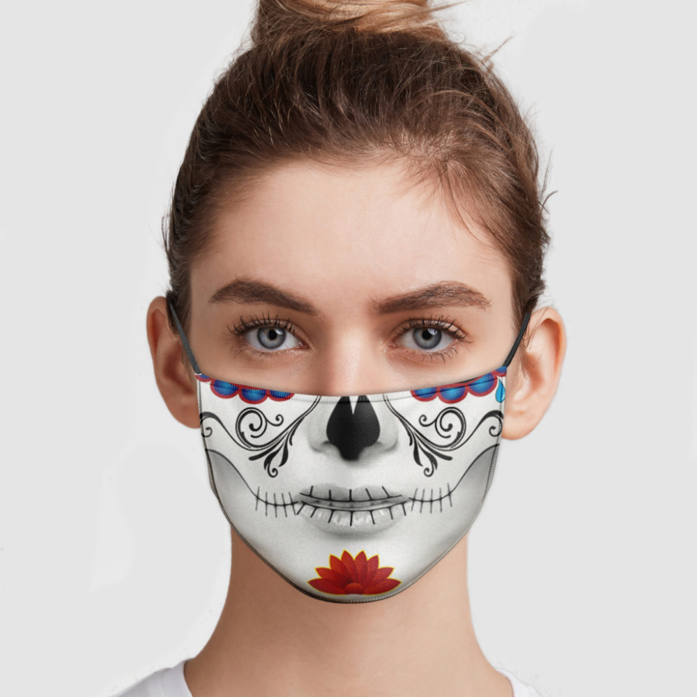 Day Of The Dead Face Mask in 2020