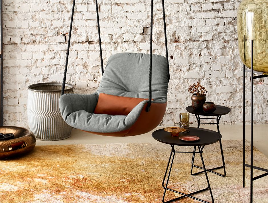 Leya Swing Seat By Freifrau Swinging Chair Indoor Swing Chair