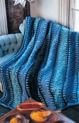 tunisch haakwerk deken