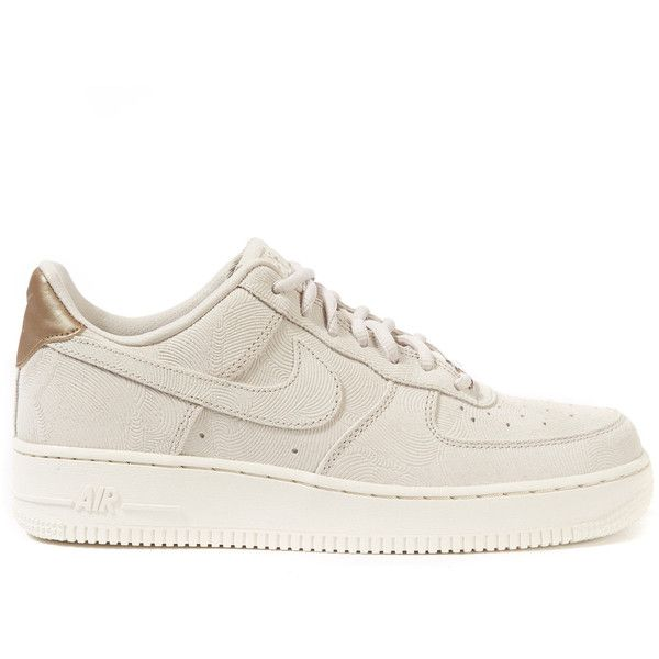 Nike Off-White Textured Suede Air Force