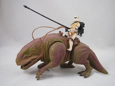 Sandtrooper With Dewback Star Wars Power Of The Force 2 1997