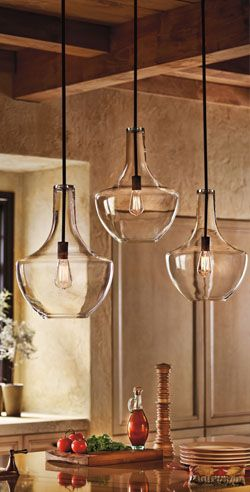 these popular pendant light fixtures are perfect for any kitchen island - Popular Kitchen Lighting
