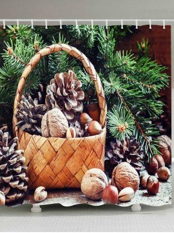 RoseGal - #RoseGal Christmas Tree Basket Print Fabric Waterproof