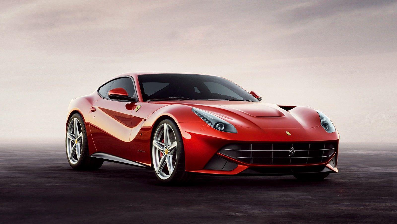 Another Ferrari, the F12 Berlinetta.