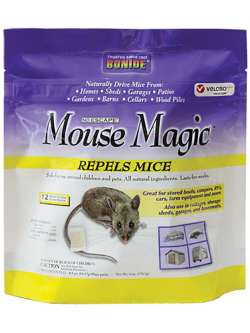 Mouse Magic Repellent Natural Peppermint Mouse Repellent By Bonide With Images Mice Repellent Pest Control Repellent
