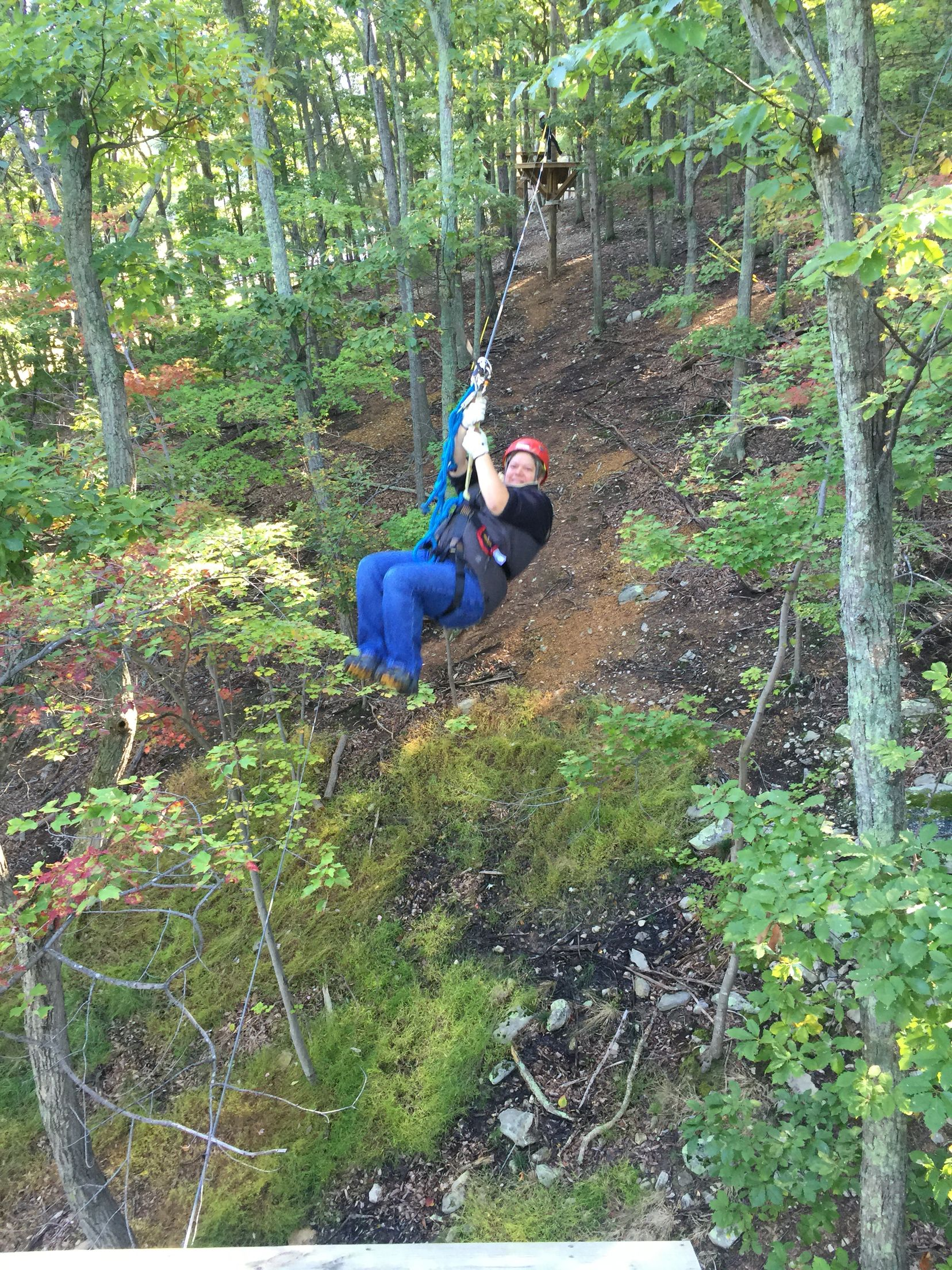 Massanutten Resort,Virginia Zip Line and Canopy Tour.....awesome ...