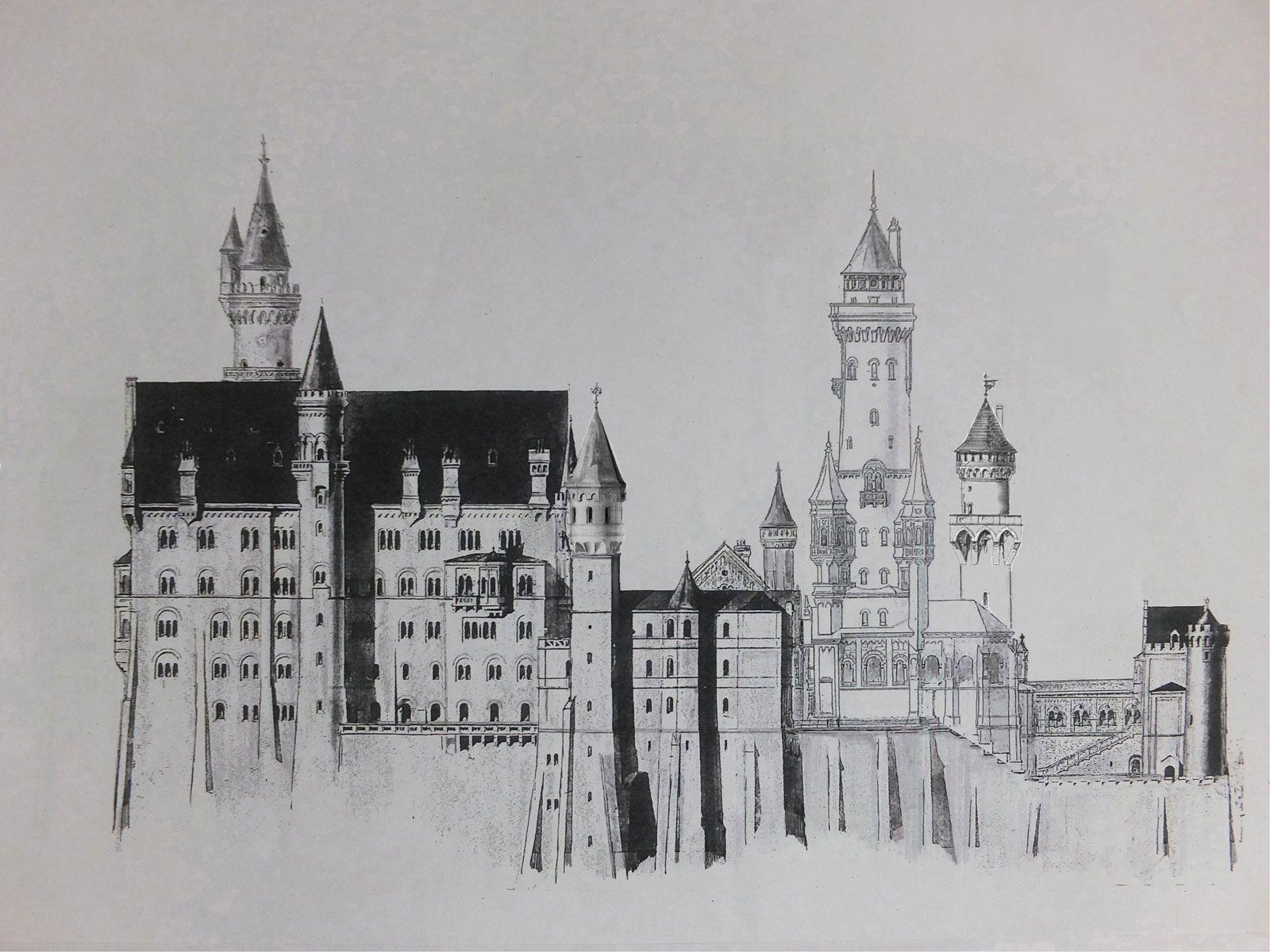 Schloss Neuschwanstein Und Falkenstein Em 2020