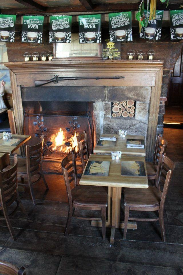 Engine Room Mystic Ct: Fireside Dining At The Captain Daniel Packer Inn....Mystic