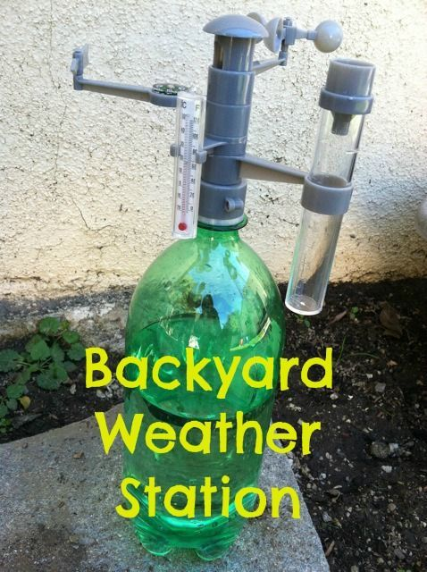 Backyard Weather Station backyard weather station in 2018 | science experiments & activites
