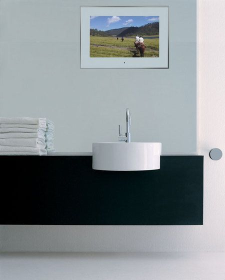 And For The Cloakroom Aquavision 32 Framed Waterproof Led Tv