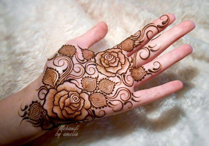 Rose Henna Belly Design Google Search Rose Mehndi Designs Latest Mehndi Designs Latest Arabic Mehndi Designs