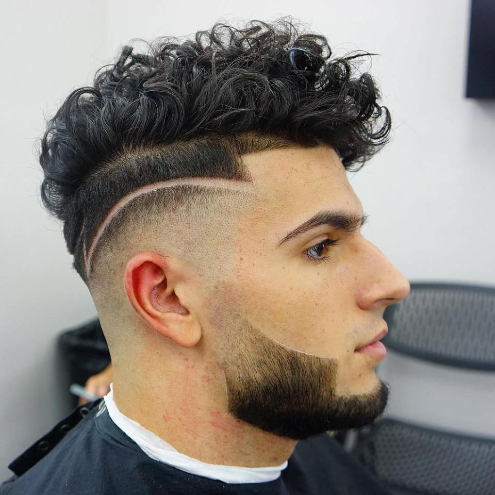 45 Hottest Men S Curly Hairstyles That Attract Women Fade Haircut Men S Curly Hairstyles Hairstyles Haircuts