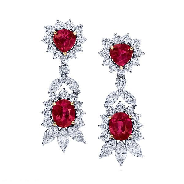 Harry Winston Vintage Diamond Earrings