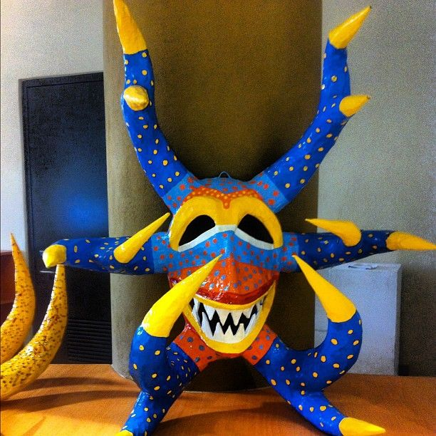 Vejigante Mask Is A Folkloric Character In Puerto Rican